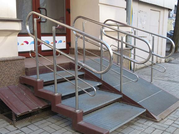 aluminium wheelchair ramp
