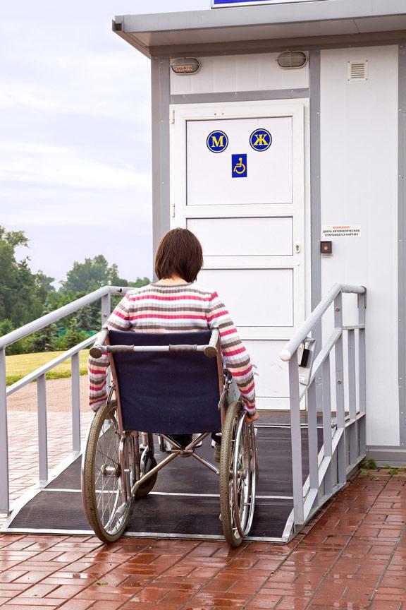 Removable Wheelchair Ramp