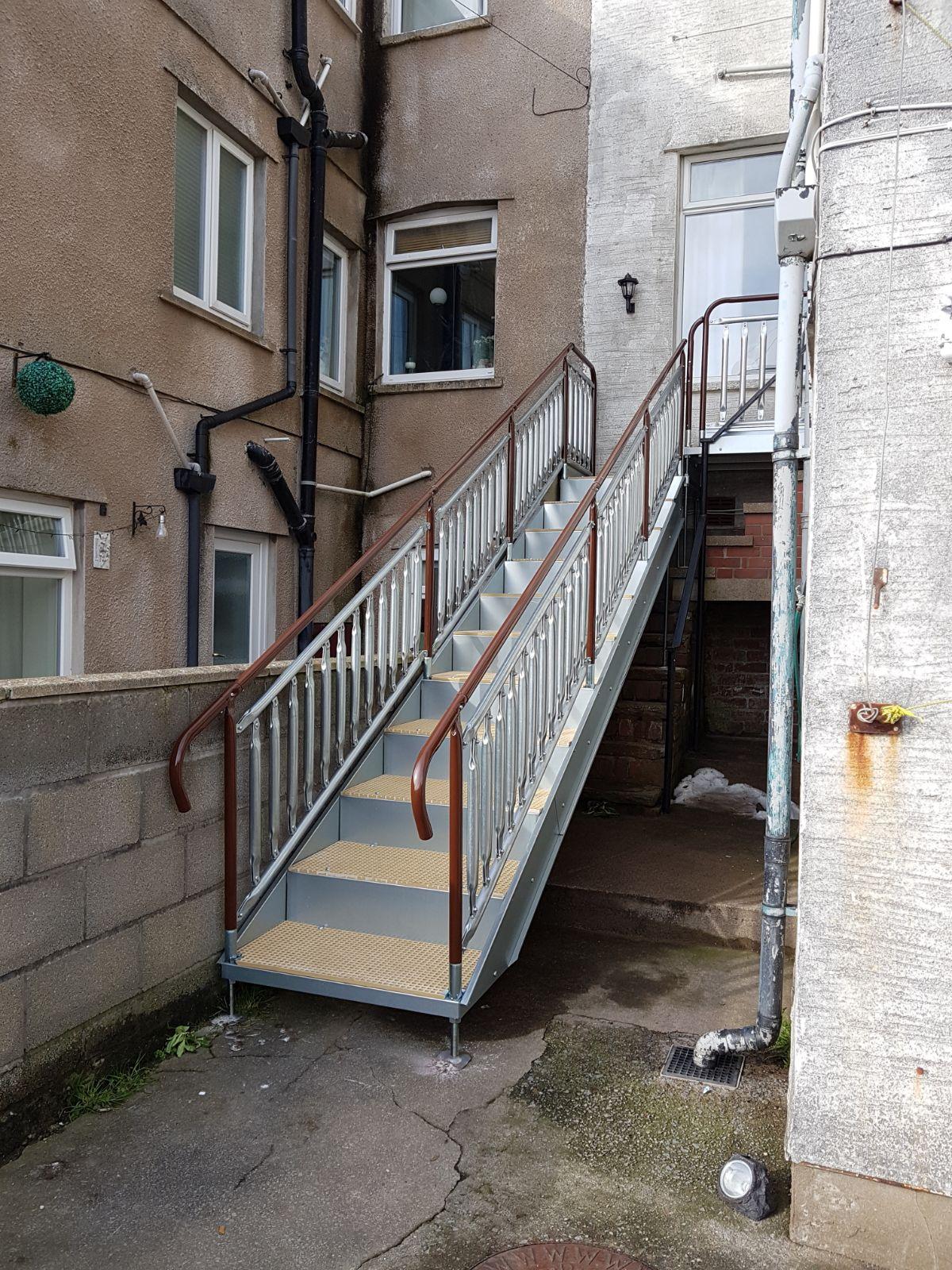 Large Disabled Steps